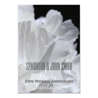 Peony 25th Wedding Anniversary Party Invitation 2