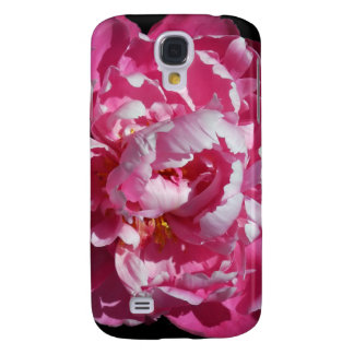 Peony Alone Luscious Pink Bloom Galaxy S4 Case