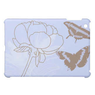 Peony and Butterflies iPad Case