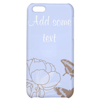 Peony and Butterflies iPhone 4G Case iPhone 5C Covers