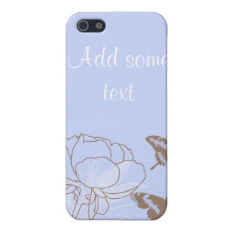 Peony and Butterflies iPhone 4G Case iPhone 5 Covers