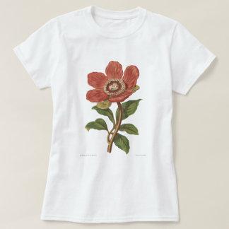 Peony, Antique Victorian Botanical Image Shirt
