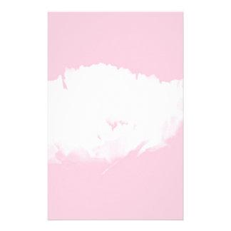 Peony blanco rosado suave - floral papeleria personalizada