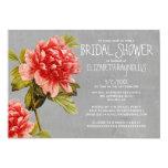 Peony Bridal Shower Invitations Personalized Invites