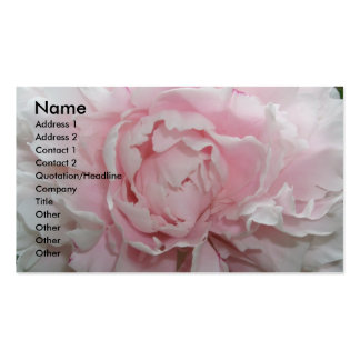 Peony Business Card Template