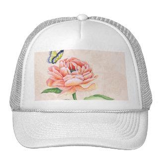Peony & Butterfly Hat