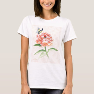 Peony & Butterfly T-Shirt