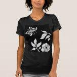 Peony & Butterfly Tee Shirt