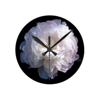 Peony Clock