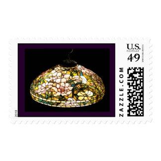 Peony del sello del arte elegante de la lámpara de