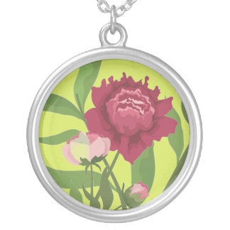 Peony Floral Necklace