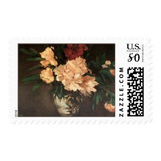 Peony Flower Bouquet Postage