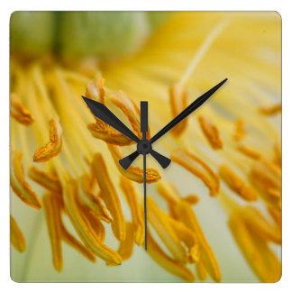 Peony Flower Clocks