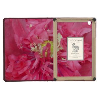 Peony flower petals iPad mini cases