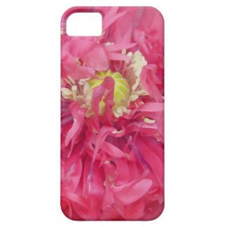 Peony flower petals iPhone 5 cover