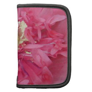 Peony flower petals folio planners