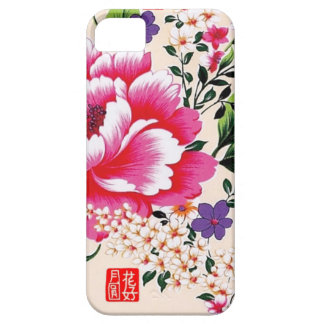 Peony flower symbolizing wealth and health iPhone 5 cover