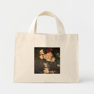 Peony Flowers by Edouard Manet Bags