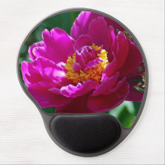 Peony Flowers Gel Mouse Mat