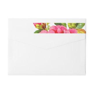 Peony Garden Floral | Bridal Shower Address Labels