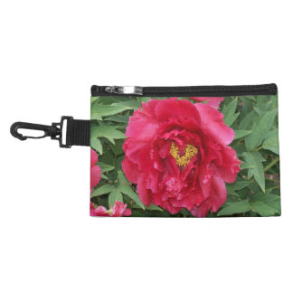 Peony Heart Clip-On Accessory Bags