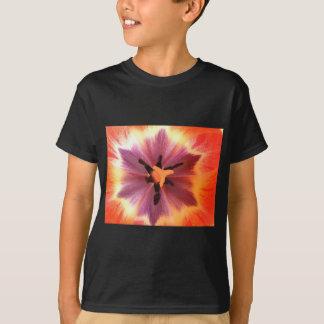 Peony in Bloom Original digital art printed poster T-Shirt