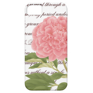 Peony iPhone 5 Case-Mate Case, Flower, Botanica iPhone 5 Covers