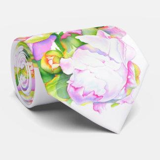 Peony magnífico corbata