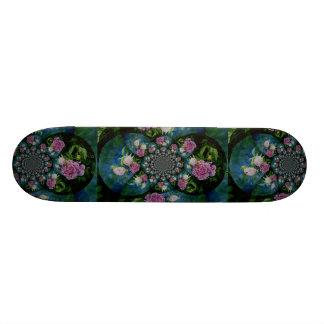 Peony Mandala 2 Skateboard Deck