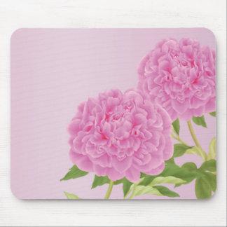 Peony Mousepad (Pink)