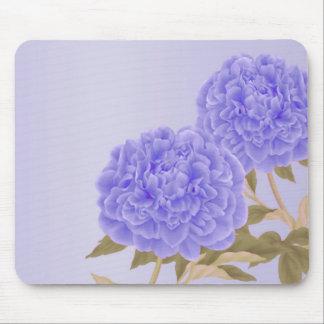Peony Mousepad (Purple)