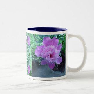 Peony Coffee Mugs