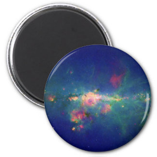Peony Nebula Wolf Rayet Star WR 102ka Refrigerator Magnets