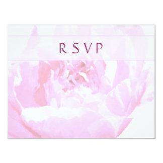 Peony Romantica RSVP Cards