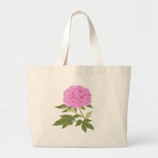 Peony rosado bolsa de mano