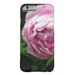 Peony rosado doble - fotografía funda de iPhone 6 barely there
