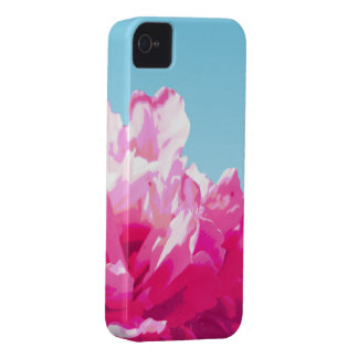 Peony rosado Case-Mate iPhone 4 protector