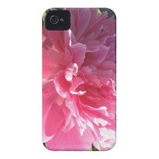 Peony rosado iPhone 4 Case-Mate fundas