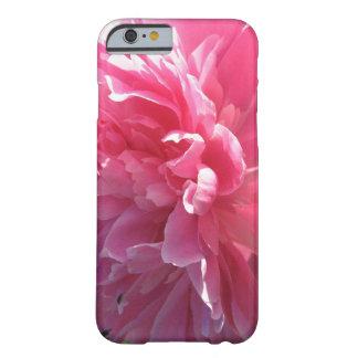 Peony rosado funda de iPhone 6 barely there