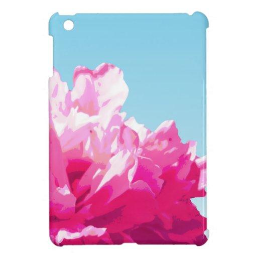 Peony rosado iPad mini carcasa