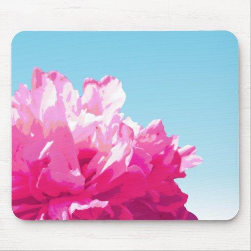 Peony rosado tapete de ratón
