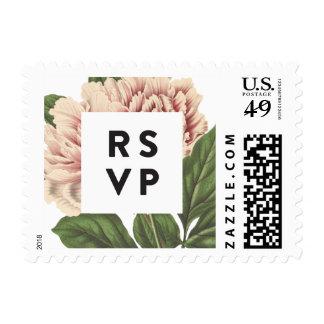Peony RSVP Postage