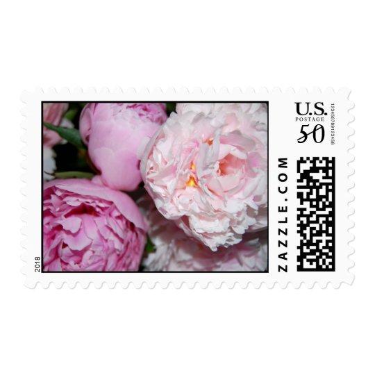 Peony Stamp