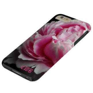 Peony suave 6/6s floral elegante más funda para iPhone 6 plus tough