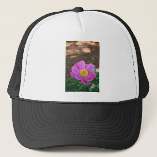 Peony - Take Time to Stop and Smell Trucker Hat