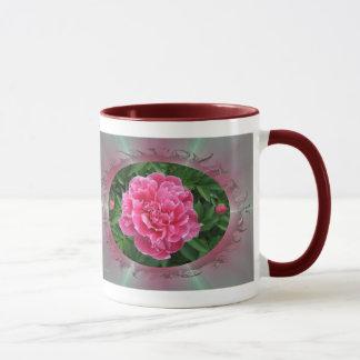 Peony w/buds ~ mug