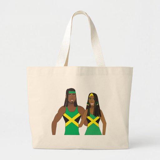 People.ai jamaicano bolsa tela grande