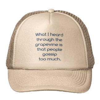 People and Gossip Trucker Hat
