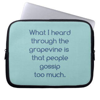 People and Gossip Computer Sleeves
