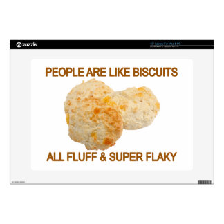 People Are Like Biscuits Decal For Laptop